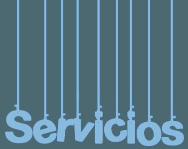 Palabra servicios cabecera
