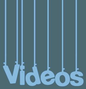 Palabra vídeos de cabecera