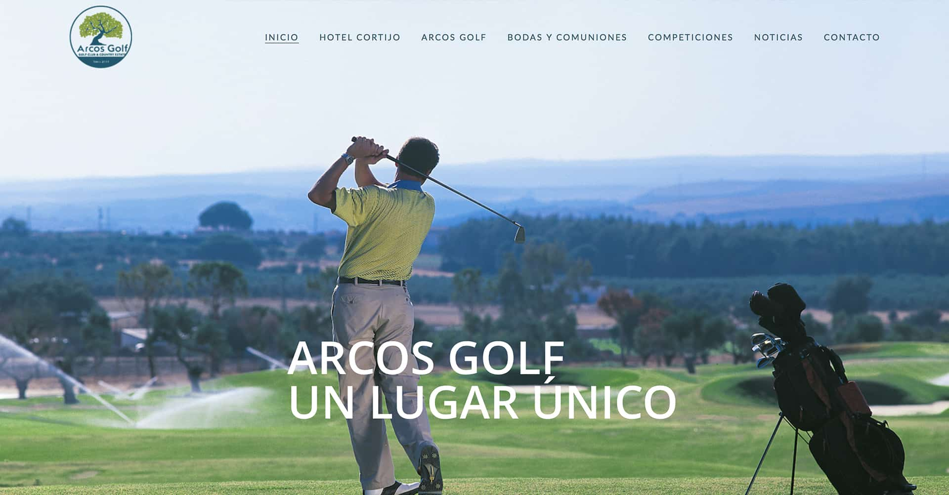 Arcos Golf | Página Web