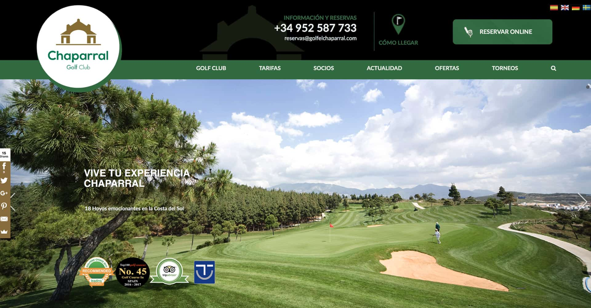Chaparral Golf Club | Web