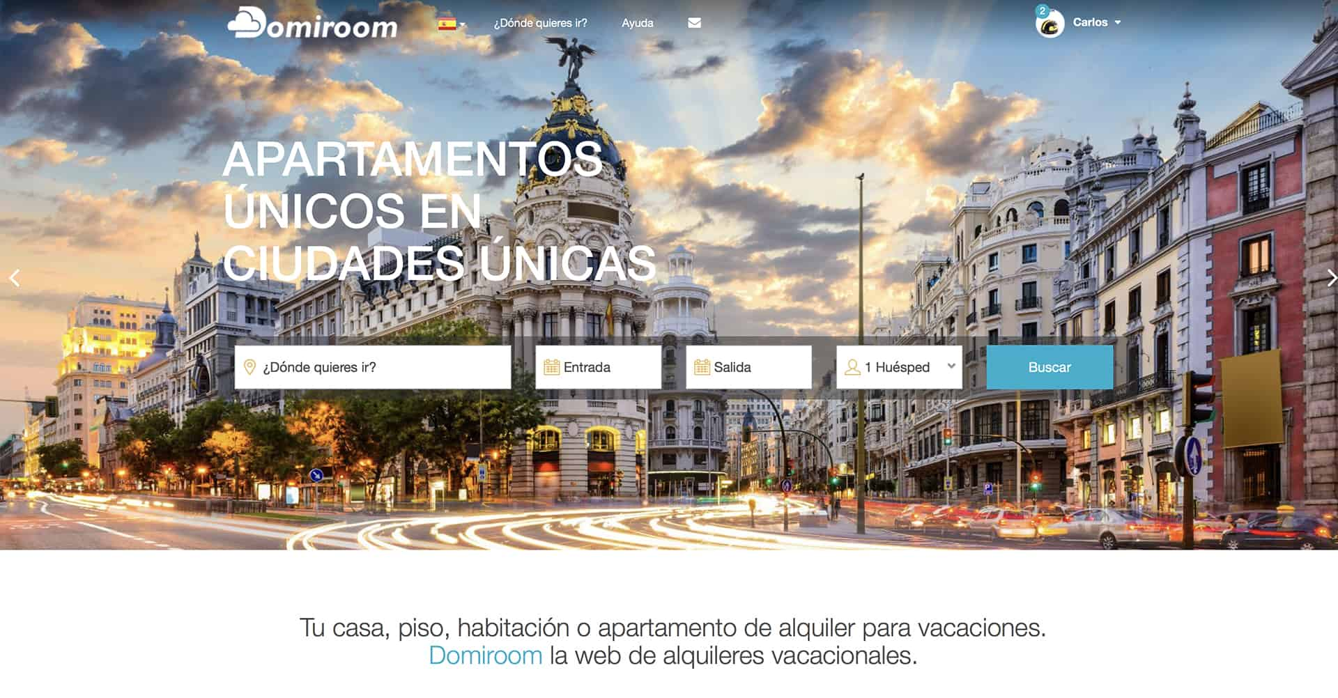 Domiroom | Web