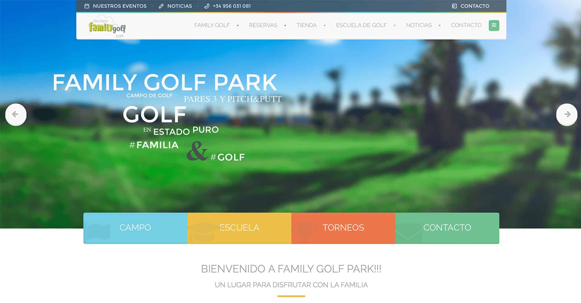Family Golf - Web