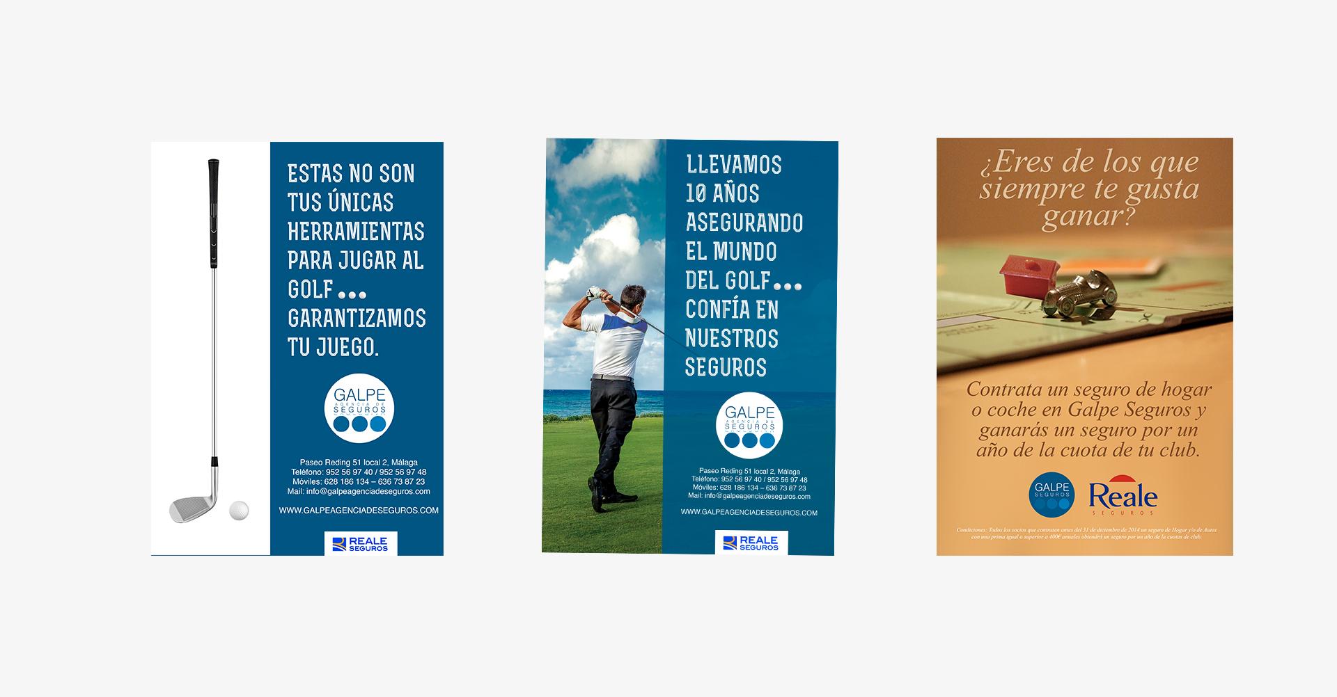 Galpe Agencia de Seguros Exclusivas | Publicidad