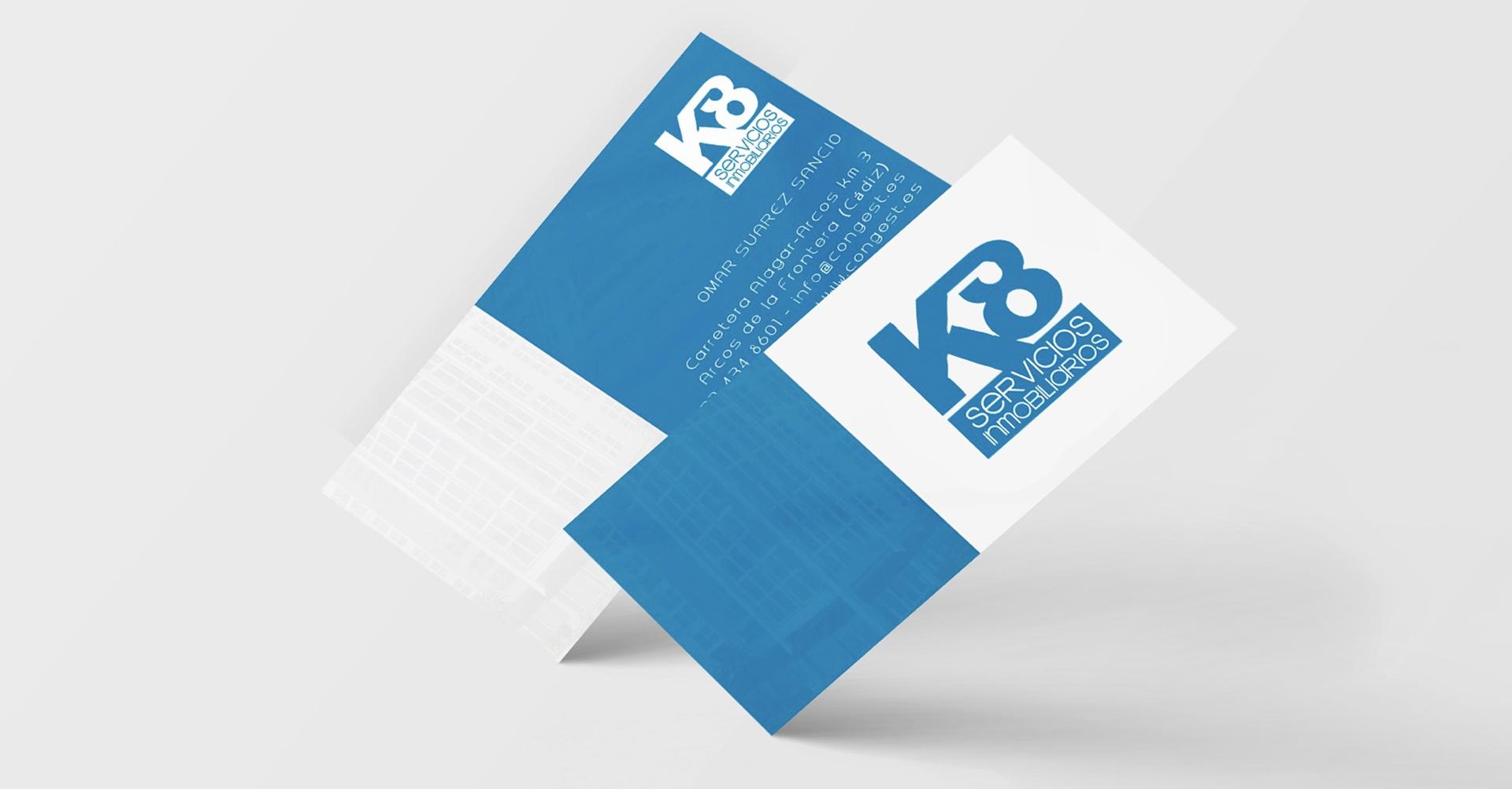 K8 Servicios inmobiliarios | Tarjetas