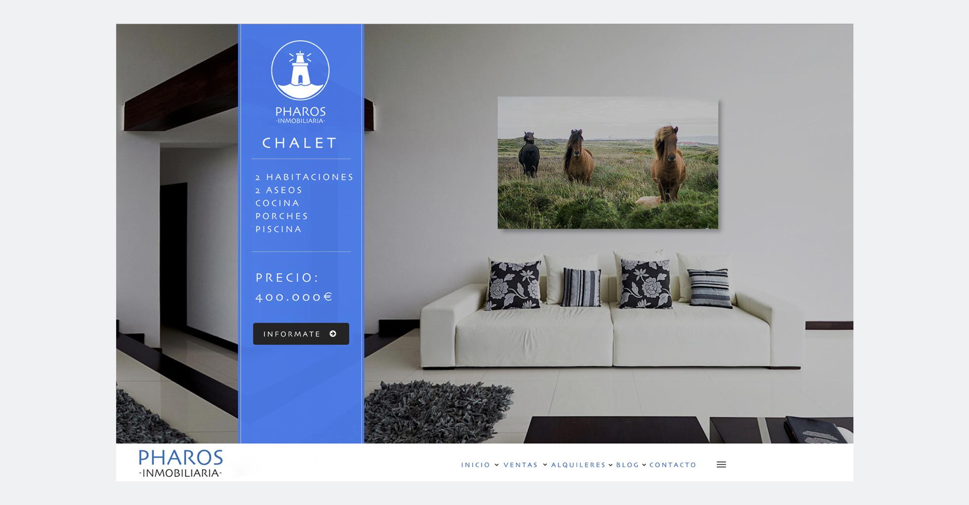 Pharos Inmobiliaria | Web