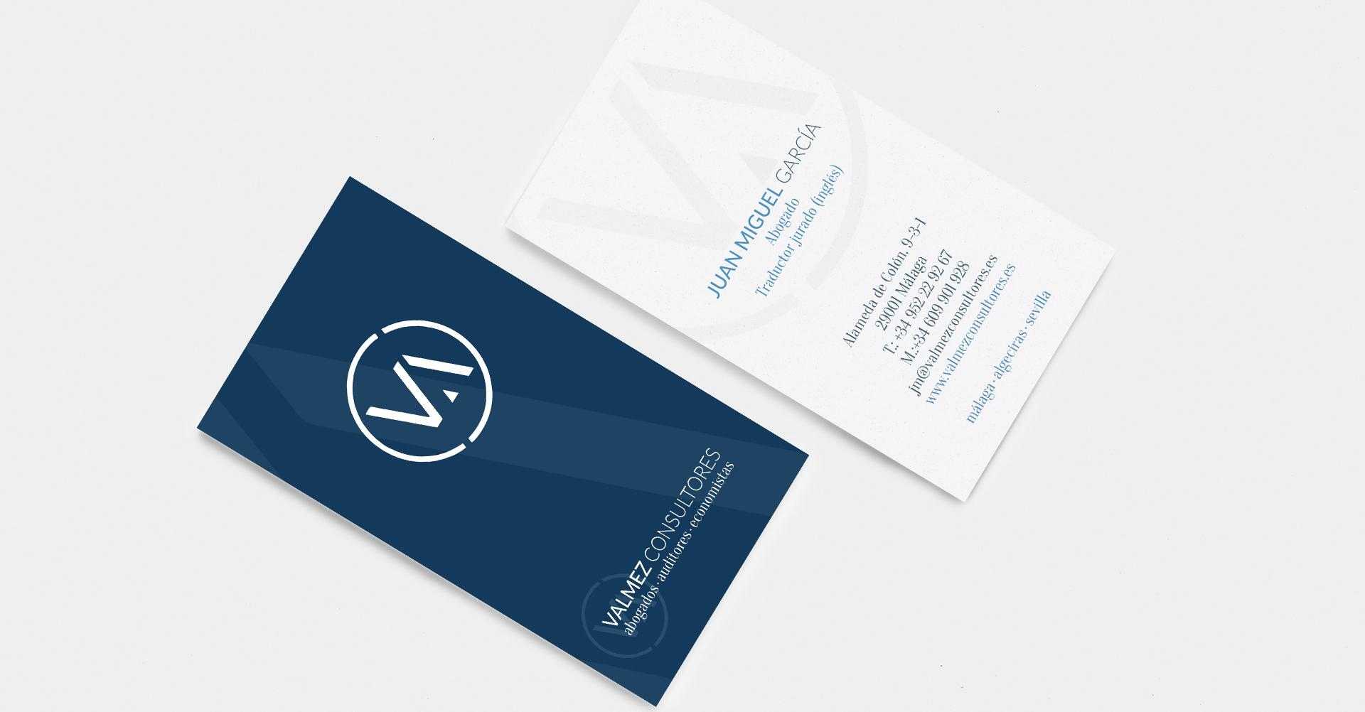 Valmez Consultores | Tarjetas de visita