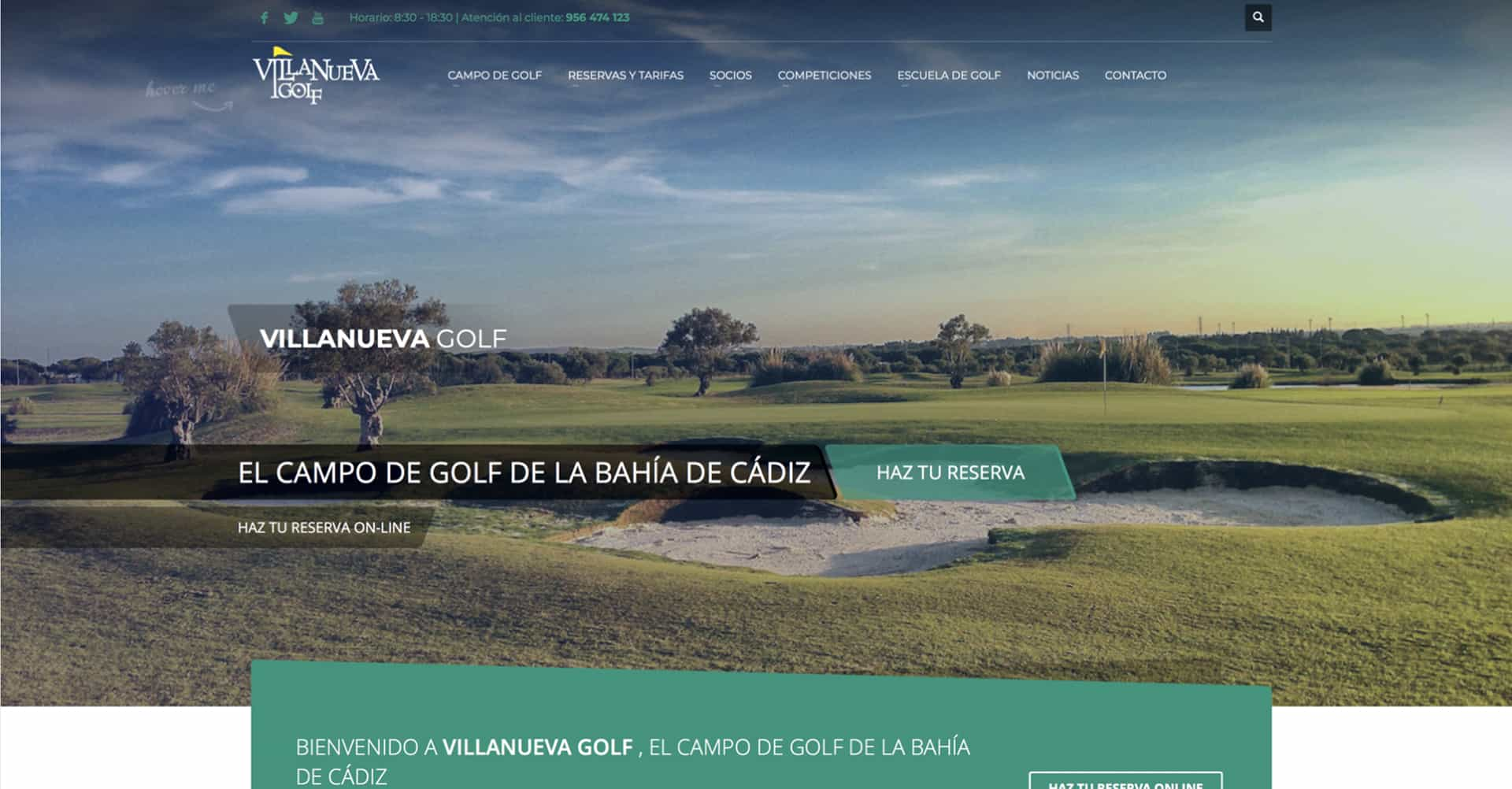 Villanueva Golf | Página Web